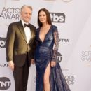 Catherine Zeta at The 25th Annual Screen Actors Guild Awards (2019) - 400 x 600
