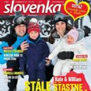 The Duke And Duchess Of Cambridge - Slovenka Magazine Cover [Slovakia] (6 February 2017)