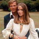 Roger Moore and Barbara Bach