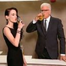 Eva Green and Ted Danson at Jimmy Kimmel Live! (August 2014).