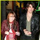 Random photos of Miley Cyrus, Justin Gaston