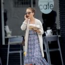 Natalie Portman in Long Dress – Out in Los Angeles - 454 x 641