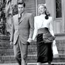 Evelyn Keyes and Glenn Ford