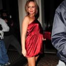 Chanelle Hayes - On A Nightout At The Chinawhite Nightclub In London, 3.9.2008