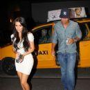 Miles Austin and Kim Kardashian