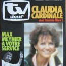 Claudia Cardinale - TV Jour Magazine Cover [France] (23 June 1982)