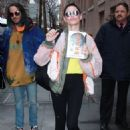 Rose McGowan at The View in NYC - 454 x 651
