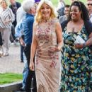 Holly Willoughby Arrives at This Morning Live in Birmingham