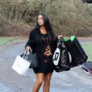Katie Price – Out in Brighton - 454 x 637