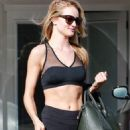Rosie Huntington Whiteley leaving the gym in West Hollywood, CA (January 17)