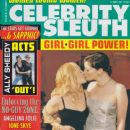 Drew Barrymore, Liv Tyler - Celebrity Sleuth Magazine Cover [United States] (June 2000)