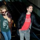 Kate Hudson and Matt Bellamy Arrive at LAX