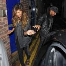 Valentine's Day arrives early this year for a reconciled Nicole Scherzinger and Lewis Hamilton as they get loved-up in London