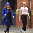 Kristen Stewart with friend out in New York City - 454 x 510