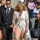 Avril Lavigne – Arrives at Jimmy Kimmel Live in Hollywood