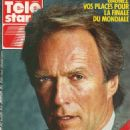 Clint Eastwood - Télé Star Magazine Cover [France] (21 May 1990)