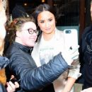 Demi Lovato – Leaves her hotel in NYC - 454 x 574
