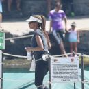Holly Robinson Peete on a vacation with Rodney Peete in Portofino - 454 x 613