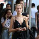 Daphne Groeneveld – Shopping at La Perla in New York - 454 x 635