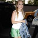 Annasophia Robb Out and About In Nyc