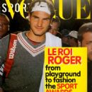Roger Federer - Vogue Sport Magazine Cover [United States] (June 2005)