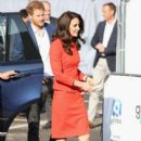 Prince William, Duchess Catherine and Prince Harry open Global Academy