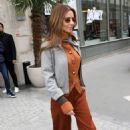 Cheryl Tweedy – Leaving her hotel in Paris