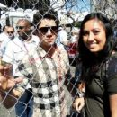 Nick Jonas  attended Day 2 of the 2011 Toyota Pro/Celebrity Race today, April 16 in Long Beach, California