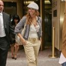 Beyonce Knowles In New York, 2008-05-14
