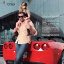 Gabriel Soto and Elisa Marie- Actual Mexico Magazine May 2013 - 414 x 537
