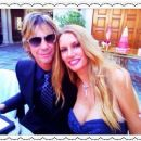 Duff & Susan McKagan at Nikki Sixx and Courtney Bingham's wedding - 454 x 374