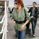 Cheryl Cole Jets Off to Dublin
