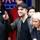 Robert Pattinson Signs for Fans at the Bel Ami Press Conference