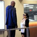 Lamar Odom spotted at Wells Fargo Bank  in Beverly Hills, California on January 31, 2017 - 425 x 600