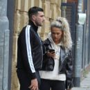 Molly Mae with Boyfriend Tommy Fury out in Manchester - 454 x 823
