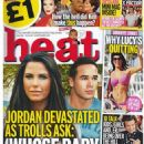Katie Price - Heat Magazine Cover [United Kingdom] (6 September 2013)
