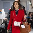 Emmy Rossum with husband Sam Esmail – Arrives at JFK Airport in NYC - 454 x 539