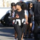 Blac Chyna and Kourtney Kardashian at The Pumpkin Patch in Los Angeles, California - October 14, 2016 - 454 x 595