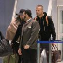 Blake Lively and Ryan Reynolds At Jfk Airport In Nyc