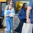 Angelina Jolie Shopping With Daughters In Los Angeles  (September 04, 2019) - 454 x 571