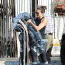 Mandy Moore in Tights – Picks up her dry cleaning in LA - 454 x 635