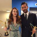 Elçin Sangu and Baris Arduç : Golden Butterfly Awards 2016 - 454 x 600