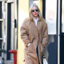 Chloe Sevigny in Long Coat – Out in New York City - 454 x 725