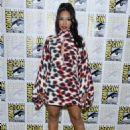 Candice Patton – 'The Flash' Press Line at Comic Con San Diego 2019 - 454 x 616