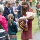 Prince William and Kate Middleton Visit Scotland  (May 29, 2014)