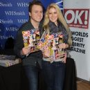 Spencer Pratt and Heidi Montag meet fans and sign copies of OK! Magazine at Brent Cross Shopping Centre on February 2, 2013 in London, England - 376 x 594