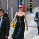 Charlize Theron at 'Jimmy Kimmel Live!' in Hollywood - 454 x 605