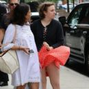 Lena Dunham is spotted outside her hotel in New York City, New York on June 6, 2016 - 399 x 600