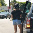 Ashley Tisdale – Running errands in Los Feliz