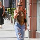 Sofia Richie – Chatting on her phone out in Beverly Hills